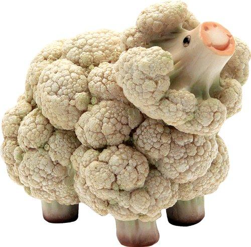 CERTRE Animaux en résine légumes Cavolpecora 13h cm (Prix Fixe de 11,90 Euros - Vous Pouvez également Ajouter d'autres Articles dans la même Commande jusqu'à Un Poids Total de 40 kg).