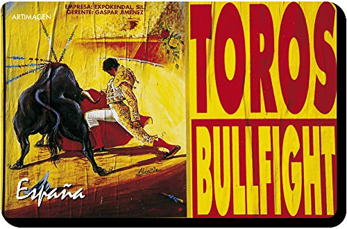 Artimagen Imán Cartel Taurino Bullfight 70x45 mm.
