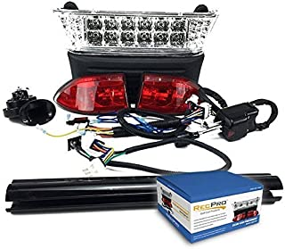 RecPro CLUB CAR PRECEDENT GOLF CART LED DELUXE All LED LIGHT KIT W/ TURN SIGNALS 2004-2008
