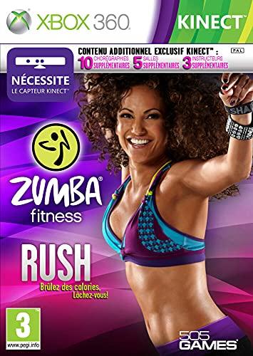 Zumba fitness : rush (jeu Kinect) [Importación francesa]