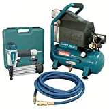 Makita MAC700-KIT3 2 H.P. Air Compressor and Brad Nailer Kit