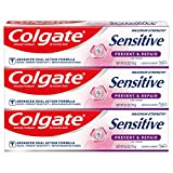 Colgate Sensitive Whitening Toothpaste, Enamel Repair and Cavity Protection, Prevent and Repair, Gentle Mint - 6 ounce...