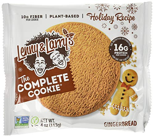 Lenny And Larry's Complete Cookie 12 Pack Gingerbread, 700 g