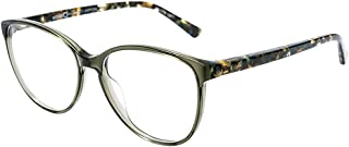 Lima GRBL Green Blue Plastic Round Eyeglasses 53mm