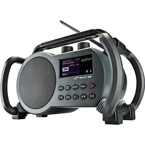 Perfectpro Netbox WLAN Internet Baustellenradio, DAB+/UKW, Bluetooth, USB, App