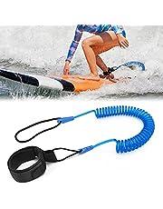 Tusenpy 10 ft surflijn, intrekbaar surfboard, veiligheidslijn, surfplank, voettouw voor stand-up paddle board