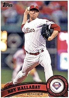 Roy Halladay baseball card (Philadelphia Phillies) 2011 Topps #300