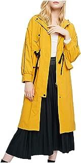 KFSO Womens Fashion Loose Lemon Bicycle Print Long Sleeve Pocket Drawstring Hooded Sweatshirt Graphic Tops