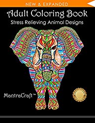 Adult Coloring Book With Animal Designs
