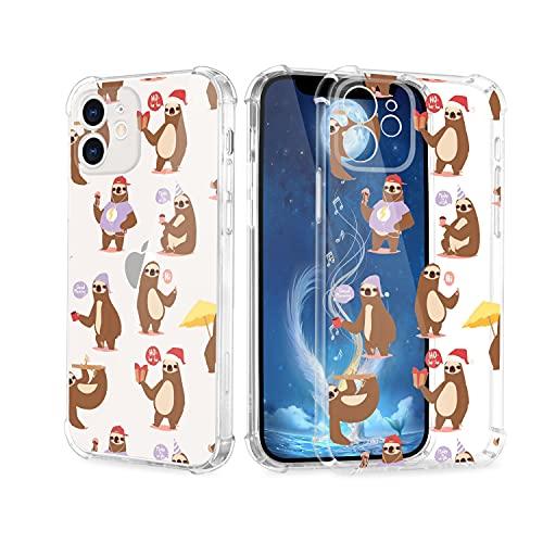 Carcasa transparente para iPhone 11 Pro, ultrafina, bonita, con diseño de animales, resistente a los golpes, a los arañazos, transparente, protección completa de TPU, para mujeres, niños y niñas