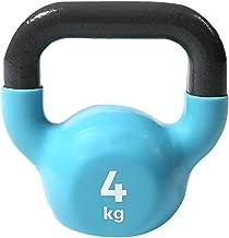 Reebok Fitness RAWT-18004BL Kettlebell, Black/Blue