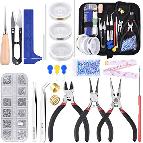 Queta Kit de DIY herramientas de fabricación de joyas,...
