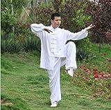 Tang de ropa china para hombre Adecuado para - ala primavera shaolin tailandés chi tradicional ropa artes marcial arte ung bendición manga larga manga larga toda la camisa de la chaqueta lateral