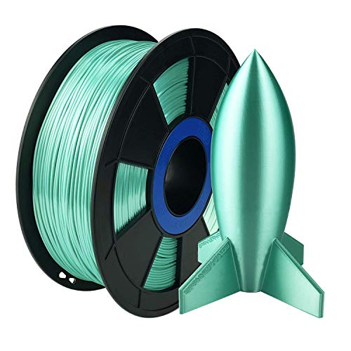 ZIRO 3D Printer Filament PLA Silky Series 1.75mm 1KG(2.2lbs), Green