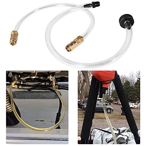 Sunluway Bleed Kit Filler Kit Fit for Seastar Hydraulic Steering System