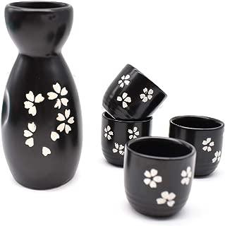 Dise/ño Floral japon/és lachineuse Servicio DE Sake Ambiente Zen Sakura Vert