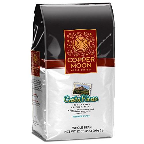 Copper Moon Whole Bean Coffee Costa Rican 2 Pound