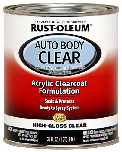 Rust-Oleum 262178 Gloss Clear Automotive Auto Body Clear Coat - 32 oz.