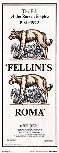 Fellini's Roma POSTER Movie (14 x 36 Inches - 36cm x 92cm) (1972) (Insert Style A)
