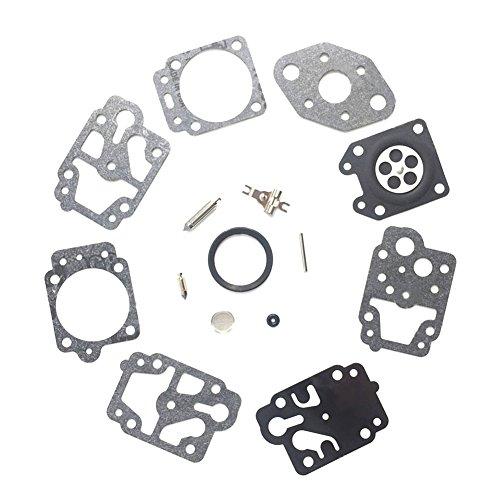 Riparazione carburatore,Enjoyall Kit di Manutenzione Carburatore a Membrana Accessori per carburatori per WALBRO K20-WYL, Ryobi 753-04014, WYL-WYL-1-1 to WYL-318-1