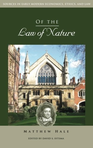 Image OfOf The Law Of Nature (Sources In Early Modern Economics, Ethics, And Law)