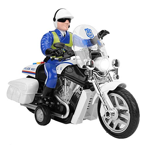 Motorradspielzeug, Spielzeug für Elektrofahrzeuge, Lernspielzeug Musik Light High Speed Traffic Figure für Kleinkinder für Kinder Kinder