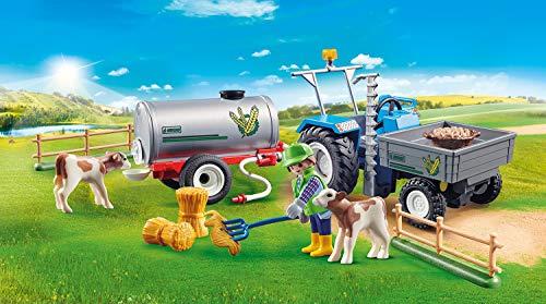 Tractor de carga con tanque Playmobil  (70367)
