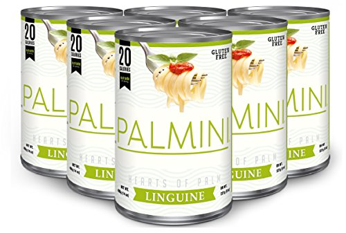 Palmini Low Carb Pasta | 4g of Carbs | As Seen On Shark Tank | 14 Oz. Can (6 Unit Case)