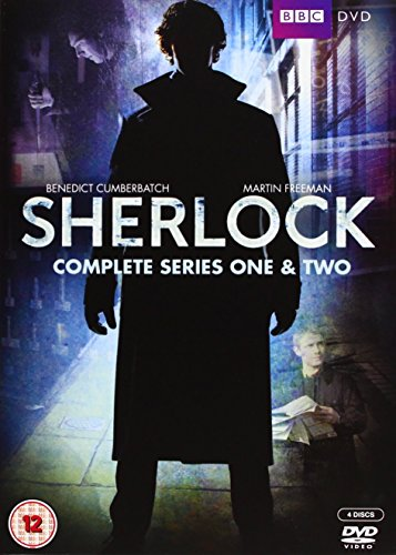Sherlock - Series 1 & 2 (4 DVDs)