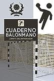 Cuaderno De Entrenador Balonmano: Libreta de Entrenamiento para planificar, organizar y registrar toda la información relativa a las sesiones diarias de trabajo con el equipo