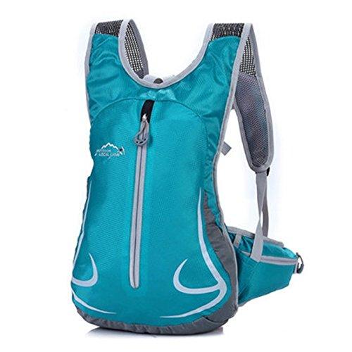 SINCERE@ Équitation sac à dos Casual Male sac sac à dos de sport cycliste féminine sac à bandoulière sac à dos en plein air ultra-léger (vert malachite)