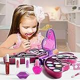 Conjunto De Juguetes De Cosméticos Para Niña, Conjunto De Juguetes De Caja De Maquillaje Lavable No Tóxico En Forma De Mariposa worth buying