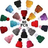 Mini Knitting Hats Doll Hat Art DIY Craft...
