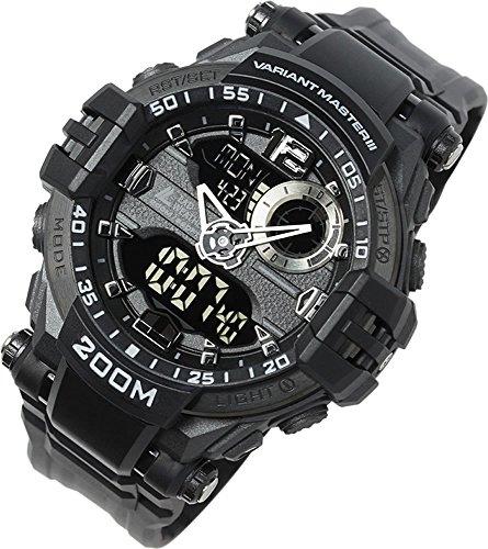 Reloj militar con 200 m de Resistencia al Agua/Militar/Deporte/Reloj de Pulsera