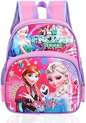 Frozen Cartera Escolar para Niñas Frozen Mochila Escolar Mighty Pups, Material Escolar para Niños, Mochila Infantil Colegio o Guarderia, Regalos para Niñas