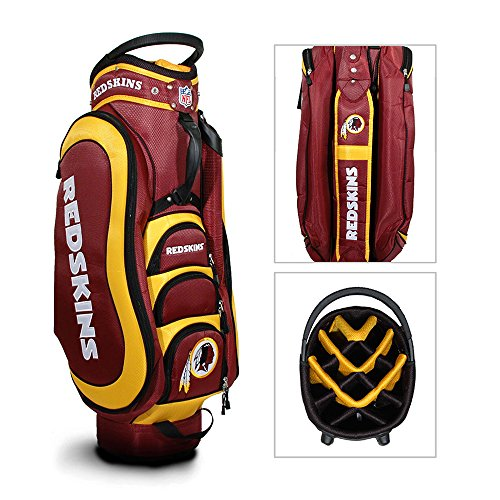 Best Prices! Washington Redskins Golf Bag: 14 Way Medalist Cart Bag