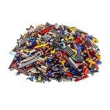 4 Kg Lego Steine ca. 2800 Teile bunt gemischt z.B. Räder Platten Fenster etc.