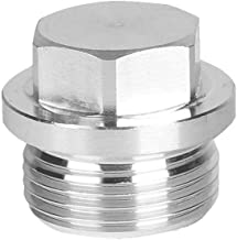 Joywayus M22x1.5 Thread Stainless Steel Rods By CNC Hex Head Corrosion Resistant Plugs Pipe Fitting