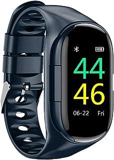 MENGXI M1 último reloj inteligente AI 2-en-1 con TWS Bluetooth 5.0 auriculares monitor de ritmo cardíaco pulsera inteligente reloj deportivo ultra largo en espera