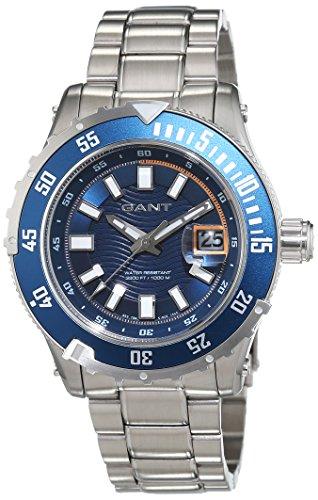 Gant Herren-Armbanduhr Pacific Analog Quarz Edelstahl W70642