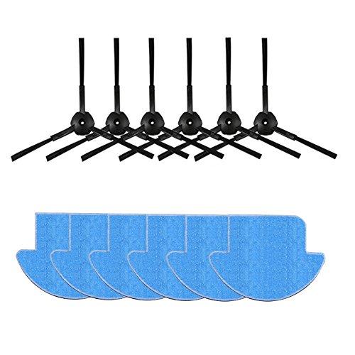 LIRR Per Chuwi ilife v7s ilife v7s pro robot Aspirapolvere Kit kit Mop panno, spazzola laterale