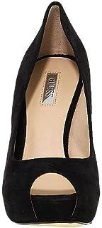 Guess Luxury Fashion Femme FL3HDINBLACK Noir Suède Escarpins | Printemps-été 20
