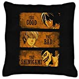 Death Note The Good The Bad and The Shinigami Cushion
