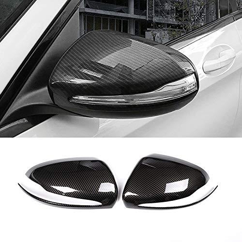 STYLING ABS ABS Fibra de carbono para Mercedes Benz C E Clase W205 W213 GLC X253 Retrovisor Retrovisor Espejo de la puerta Espejo de la puerta Accesorios