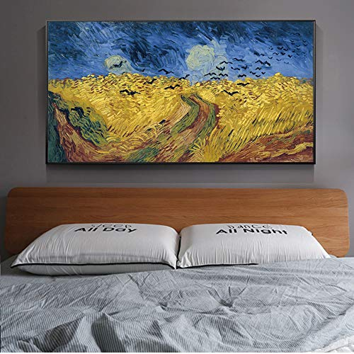 Famous Painting Reproductions On The Wall Art Canvas Prints Landscape Picture Decor A 30x60cm
