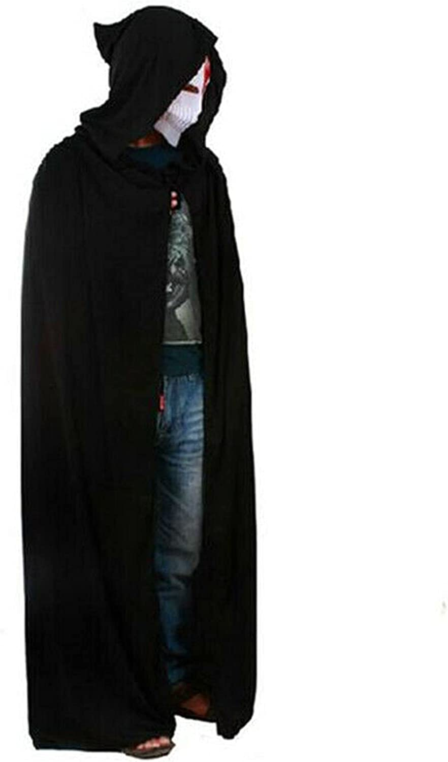 YHshop Halloween Cloak New Max 83% OFF products world's highest quality popular Loose Women Capes Hooded Adult