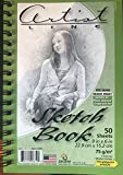 Sketch Book: Small Spiral Bound Paperback Journal, 50 sheets (100 Pages) , 6