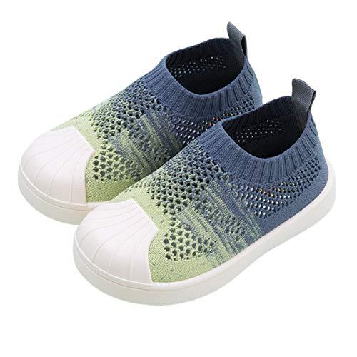 DEBAIJIA Zapatos para Niños 1-7T Bebés Caminata Zapatillas Gradiente Color Suela Suave...