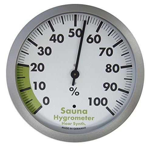 TFA Dostmann Analoges Sauna-Hygrometer, hitzebeständig, zum Messen der Luftfeuchtigkeit