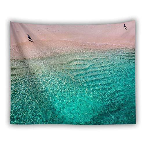 N/A Decoración de tapices Trippy Tapestry Sea Wall Hanging Fabric Carpet Wall Sheet tentureDormitorio Decor Wall Cloth